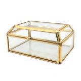 Handgemachter kosmetischer Glasschmucksache-Großhandelskasten für romantisches Hochzeits-Geschenk