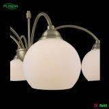 Nuova illuminazione del lampadario a bracci di disegno con il vetro rotondo (P-8104/5)