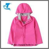 Grosse Mädchen-Jungen-Kind-Regen-Umhüllung mit Haube