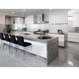 Amerikanisches Projekt-weißer Lack MDF-Küche-Schrank