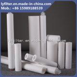 5 mícrons cartucho da vela de filtro da água de um Ppf de 30 polegadas para a carcaça de filtro dos Ss