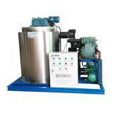 Eis-Maschine der Wasserkühlung-Flocken-8t für gefrorene essbare Meerestiere