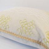 Ammortizzatore decorativo di tela del sofà 45X45 del ricamo della Corda-Overedged