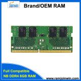 Популярный в Европе 3 оригинальных чипов памяти DDR4 SODIMM 8 ГБ оперативной памяти 1024 МБ*8c памяти