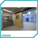 Puerta deslizante automática hermética de la puerta de acero para el hospital