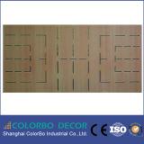 Панель деревянной звукоизоляционной внутренне стены акустическая