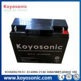 la batteria di litio della batteria 6V 10ah di 6V 10ah 20hr imballa la mini UPS con il recupero di batteria