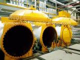 Bloque de hormigón celular Autoclave AAC el equipo de vapor industrial de vidrio