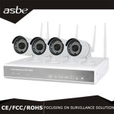 960p 1.3MP 4CH 무선 WiFi 감시 NVR 장비 안전 CCTV 감시 사진기