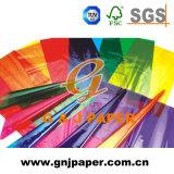 La haute transparence du papier cristal enrouler du papier utilisé pour l'emballage cadeau