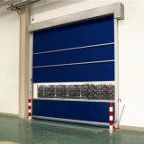 Porte à grande vitesse de /Automatic de porte de roulement de PVC