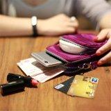 Bolso impermeable de la caja de la bolsa del teléfono celular de la muñeca de múltiples funciones de Crossbody