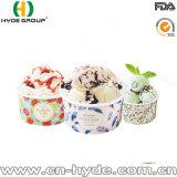 Doppeltes WEGWERFPET Papiercup für Eiscreme mit Drucken