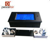 Pzem-051 contador del panel actual de Digitaces de la energía de la potencia del voltaje de la C.C. 6.5-100V 100A 4in1