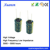 33UF 200V Hoge Frequentie van de Condensator van het Aluminium de Elektrolytische