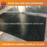 Desgaste soldado bimetálico - placa de acero resistente
