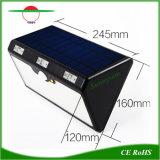 動き赤外線センサーのABS 66 LEDの太陽壁ライト