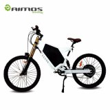 Vélo électrique de montagne verte 48V 2000W avec la batterie au lithium