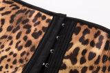 Leopard-Frauen, die Underbust Taillen-Kursleiter-Karosserien-Former-Korsett abnehmen