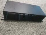 Revêtement anodisé noir 6063 Alliage en aluminium/aluminium extrudé Profil