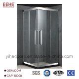 工場価格のカスタマイズされたステンレス鋼のガラス簡単なシャワー機構