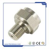 La précision et d'usinage CNC moulé sous pression en aluminium anodisé naturel des pièces mécaniques