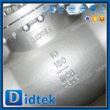 Robinet d'arrêt sphérique boulonné par acier de capot de moulage de norme ANSI Wcb de Didtek