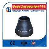 Schwarzes Rohrfitting-Reduzierstück des Stahl-A234wpb Öl verwendetes