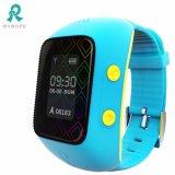 Het slimme Horloge van de Telefoon van het Kind met Apps Blauwe R12