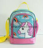 Unicorn 책가방 무지개 3D Unicorn 십대 소녀 학교 부대 대학 책가방