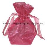 Мода рекламных мешок для упаковки пользовательских белый Organza подарочный футляр
