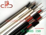 Rg59 2c Stromleitung Koaxial-Leiter des Fernsehapparat-Kabel-CCS für Audio/Kraftübertragung