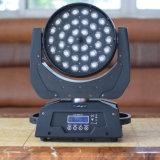 36*10W faisceau de LED RGBW WSH Déplacement Effet lumière à LED
