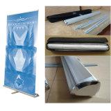 Lado único rolo de alumínio até o Suporte de Banner Standee do Rolete