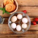 3 Teiler-Fach-Glasmahlzeit-Vorbereitungs-Behälter mit dem Sperrung der Kappe