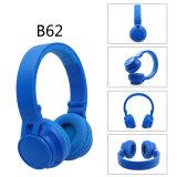 Trasduttori auricolari senza fili delle cuffie radiofoniche stereo ad alta fedeltà pieghevoli di Bluetooth FM per i telefoni