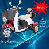Nova Bicicleta de Scooter Eléctrico de três rodas/triciclo, Mobilidade Scooter, E-bike, Scooter