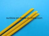 Het Silicone van uitstekende kwaliteit bedekte Gevlechte Glasvezel Sleeving met een laag