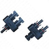 2 tot 1 Mc4 Parallelle Geplaatste Schakelaar van de Tak - M/FF & F/mm