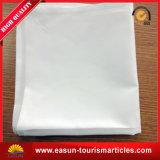 Tablecloth descartável impresso do casamento linho branco para durante o vôo