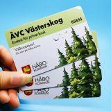 Kundenspezifische 13.56MHz ISO14443A NTAG213 Karten Belüftung-RFID NFC