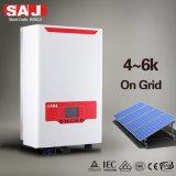 SAJ 3 Grille de phase à haute efficacité Tie onduleur solaire 6000W de sortie