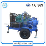 큰 수용량 디젤 엔진 섞인 교류 슬러리 펌프