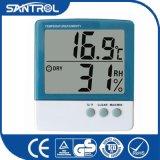 La température d'un écran et de deux étalages et thermomètre d'humidité