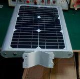 La lumière du soleil de haute qualité tout en un seul chemin de lumière solaire 15W avec fonction du capteur de mouvement