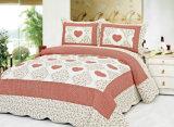 Kundenspezifische vorgewaschene haltbare bequeme Bettwäsche steppte die Bettdecke der Bettdecke-1-Piece, die für 45 eingestellt wurde