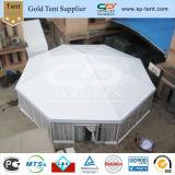Большая емкость со светлыми стенами восьмиугольника Цирк Marquee полигон палатка с тормозными накладками украшения