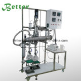 Evaporador aire acondicionado de la destilación del camino corto de la película fina para la extracción de petróleo de Cbd