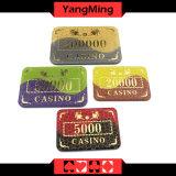 Ganar bronceado / acrílico cristal fichas de póquer de Casino Club Poker Chipsmodel (YM-CP006)