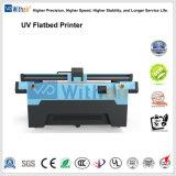 Stampante di getto di inchiostro UV a base piatta della stampante di stampa di legno di vetro larga di formato